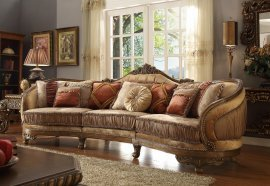 Traditional Luxury HD-458 Upholostered Sectional Sofa by Homey Design
