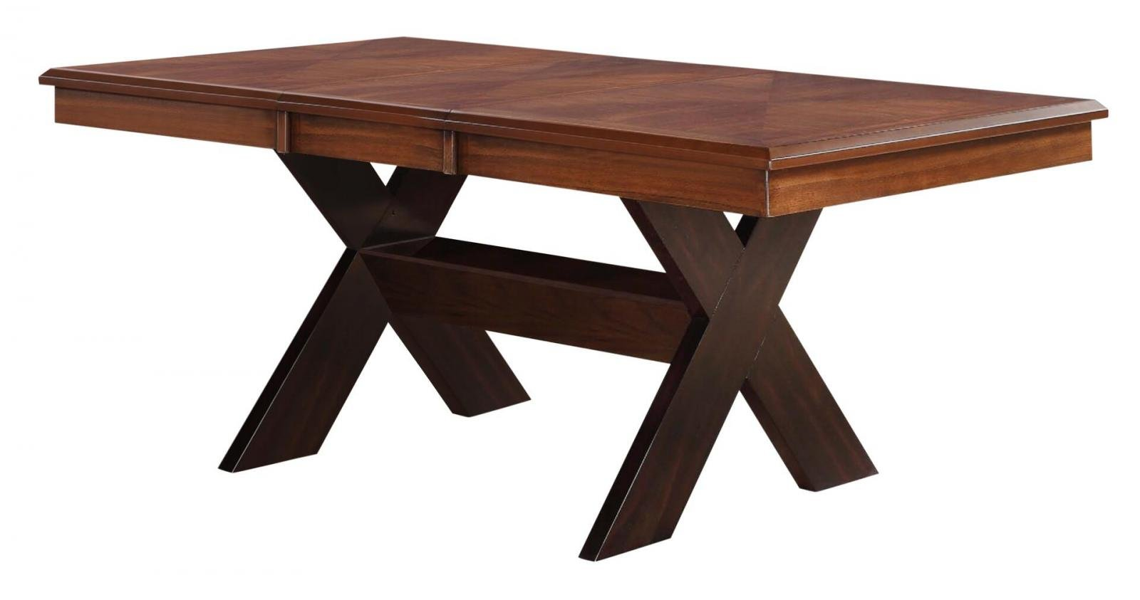 Transitional Cherry  Dining Table 1 pcs Cosmos Furniture 2022PIRSA