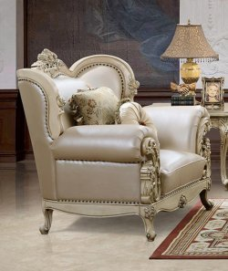 Traditional Antique Pearl HD-32 Chair by Homey Design