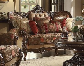 Traditional Victorian Royal HD-39 Sofa in Beige by Homey Design