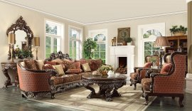 Traditional HD-111 Sectional Sofa Set 7Pcs by Homey Design