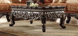 Traditional Classic Hd-1101C Coffee Table in Gold by Homey Design