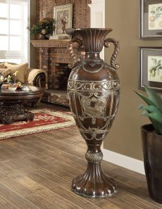 Traditional Luxurious Royal HD-1508 Flower Pedestal by Homey Design