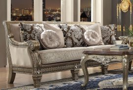 Traditional HD-303 Sofa Loveseat and Chair Set 3Pcs by Homey Design