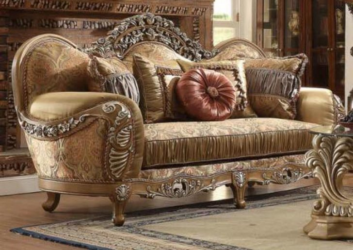 Hd 622 Traditional Sofa Loveseat And