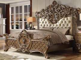 Traditional Classic Pearl HD-8018 California King Bed by Homey Design