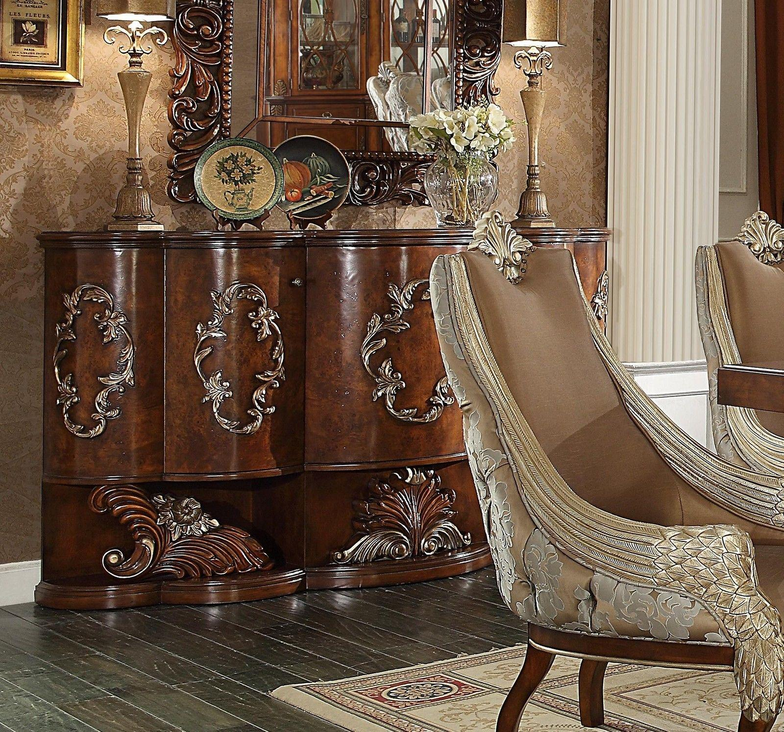 Traditional Luxurious Royal Antique HD-124 Buffet by Homey Design
