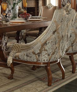Traditional HD-124-C Dining Chair in Beige by Homey Design