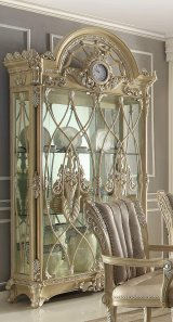 Traditional Luxury Cream HD-5800-C China Cabinet by Homey Design