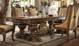 Traditional Rich HD-8011-DT Dining Table by Homey Design