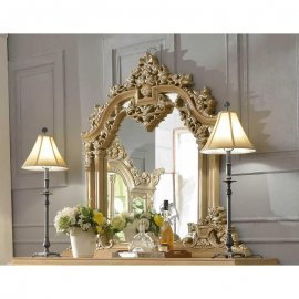 Traditional Gilded Ornately HD-7012 Mirror by Homey Design