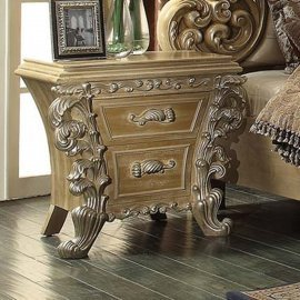 Traditional Gilded HD-7012 Nightstand by Homey Design