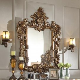 Traditional Classic Gilded HD-8018 Mirror by Homey Design