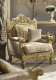 Traditional Chair in Yellow Fabric Traditional Style Homey Design HD-2659