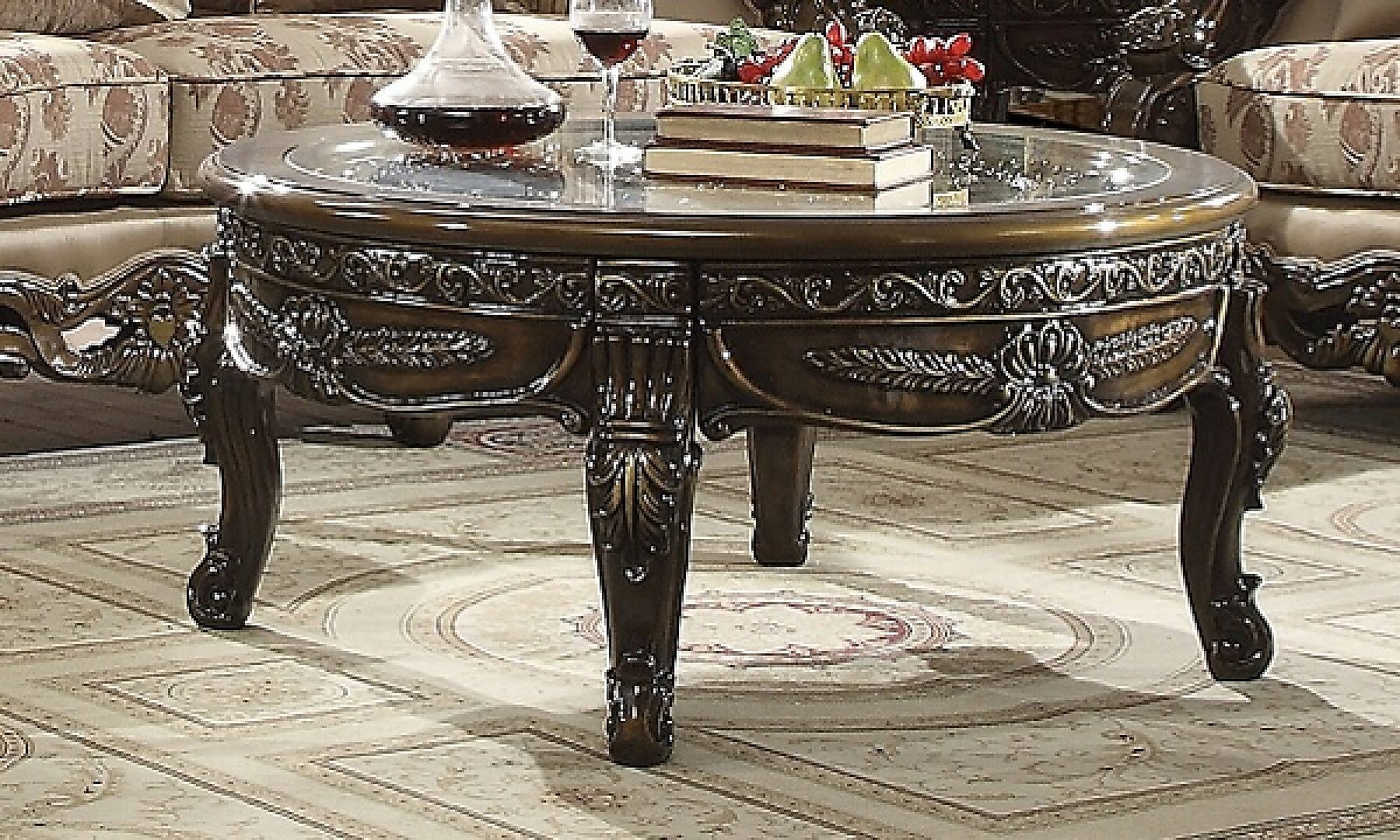 Traditional End Table in Brown Wood Traditional Style Homey Design HD-1545